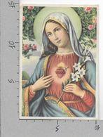 CARTOLINA NV ITALIA - Madonna Cuore Trafitto - Congregazione Perpetuo Suffragio Bologna - 10 X 15 - Vergine Maria E Madonne