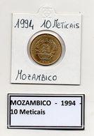 Mozambico - 1994 - 10 Meticais - Vedi Foto - (FDC7365) - Mozambico