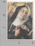 CARTOLINA NV ITALIA - Suora Con Crocifisso E Corona Di Spine - Congregazione Perpetuo Suffragio Bologna - 10 X 15 - Santi