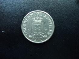 ANTILLES NÉERLANDAISES : 25 CENT  1970  KM 11  SUP / TTB - Antilles Neérlandaises