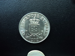 ANTILLES NÉERLANDAISES : 25 CENT  1979  KM 11  SUP - Antilles Neérlandaises