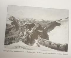 Photos Allemandes Recto  -470 Trafoier Joch Italie - Optics