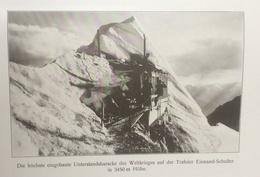 Photos Allemandes Recto Verso -  471 Trafoier Eiswand Sculter 3450m - Tabaretta Ferner 3070 M - Optics