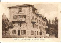COLONIE DES GARCONS D'ORAN - La Louvesc