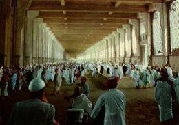 Saudi Arabia, MECCA MAKKAH, Pilgrims Inside The Masaa (1970s) Islam Postcard - Saudi Arabia