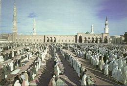 Saudi Arabia, MEDINA, Friday Prayer At Al-Masjid An-Nabawi Mosque (1970s) Islam - Saudi Arabia