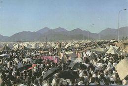 Saudi Arabia, MINA MONA, Pilgrims Camping Tents (1970s) Islam Postcard - Saudi Arabia