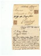 LETTRE  DEPART PARIS POUR HONGRIE 17 MAI 1877 - 1877-1920: Periodo Semi Moderno