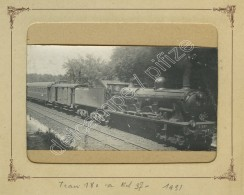 "(Trains) Locomotive Nord N° 2657 . Légende ""Train 180 à Kil 37 - 1931"". Chantilly . - Eisenbahnen"