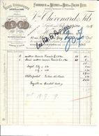 10 - Aube - LA FERTE-SUR-AUBE - Facture THEVENARD - Fabrique De Mètres En Buis - 1919 - REF 270A - France