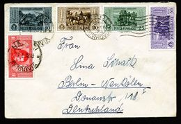 A5238) Italien Italy Brief Napoli 15.7.32 Nach Berlin - 1900-44 Victor Emmanuel III.
