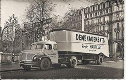 CAMION DE DEMENAGEMENT REGIS MARTELET - Dijon