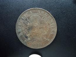 ARGENTINE : 2 CENTAVOS  1889   KM 8    TTB - Argentina