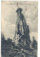 798. LE QUEYRAS . VALLEE DE MOLINES . UNE DEMOISELLE COIFFEE . AFFR LE 11-8-1924 AU VERSO . 2 SCANES - Francia