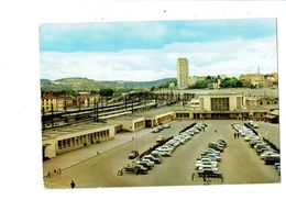 Cpsm - DIJON - La Gare - E Du G N°II - Voitures Train Grue DS 2 CV CITROEN - Dijon