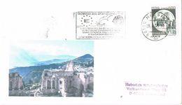 27818. Carta MESSINA (Italia) 1990. TAORMINA. Lyons Club - 6. 1946-.. Repubblica