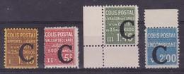 France, Colis Postaux, Yvert N° 108.112.113 Et 118 ** - Mint/Hinged