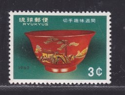 RYU-KYU N°  108 ** MNH Neuf Sans Charnière, TB (D5787) Vase Du XVIIIè Siècle - Ryukyu Islands
