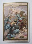 CHROMO  CHOCOLATERIE  AIGUEBELLE COMBAT DE PATAY 02 DECEMBRE 1870 ATHANASE DE CHARETTE - Aiguebelle