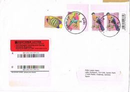 27821. Carta Aerea Certificada EDENVALE (South Africa) 2010 To Spain - África Del Sur (1961-...)