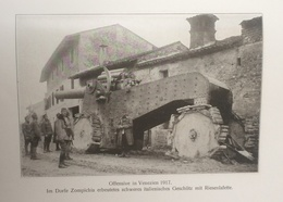 Photos Allemandes Recto Verso -  499 Vénétie Zompichia Canon Autotracté - Gros Canon Italien - Optique