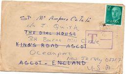 Carta Con Matasellos De 1975 Direccion Ascot - 1971-80 Storia Postale