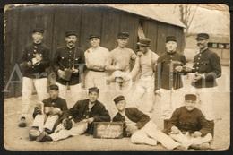 Photo Postcard / Foto / Photograph / Militairs / Militaire / Soldiers / Soldats / Antwerpen / 't Kantje / 1914 - 1916 - Photographie