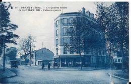 DRANCY - Les Quatre Routes - Le Café Maxime - Drancy