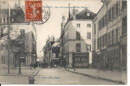 RUE DE LORRAINE ET PLACE MONGE - Beaune