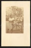 Photo Postcard / Foto / Photograph / Baby / Bébé / Used - Photographie