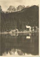 Lac De Morgins Et Dents Du Midi - Grande Photo (17,2 X 12,5 Cm) Prise Dans Les Années 30 - VS Valais