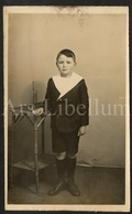 Photo Postcard / Foto / Photograph / Boy / Garçon / Kleine Trompet / Small Trumpet / England - Photographie