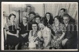 Photo Postcard / Foto / Photograph / Family / Famille / Birthday Cake (?) / Unused / England - Photographie
