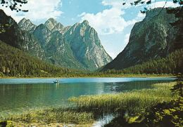 1 AK Italien * Der Toblacher See (Lago Di Dobbiaco) In Den Dolomiten In Südtirol * - Otras Ciudades