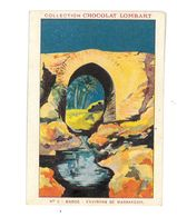 CHROMO IMAGE CHOCOLAT LOMBART N°5 MAROC MARRAKECH UN VIEUX PONT - Lombart