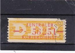 """DDR, Dienst: ZKD Nr..16 """"P"""" Gest.  Mi. 20,- Euro (T 2803) - Service"""