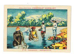 CHROMO IMAGE CHOCOLAT LOMBART N°66 MADAGASCAR SUBERBIEVILLE - Lombart