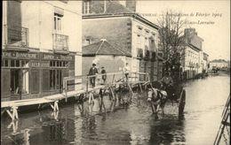 44 - REZE-LES-NANTES - Pont-Rousseau - Inondations 1904 - France