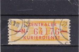 """DDR, Dienst: ZKD Nr..16 """"N"""" Gest.  Mi. 12,- Euro (T 2806) - Service"""