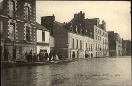 44 - NANTES - Bd Sébastopol - Inondations 1904 - Horloger Giquel - Nantes
