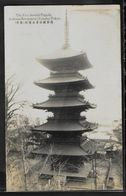 CPA JAPON - Tokyo, The Five Storied Pagoda Asakusa Kwanzeon - Tokyo