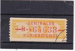 """DDR, Dienst: ZKD Nr..16 """"N"""" Gest.  Mi. 12,- Euro (T 2808) - Service"""
