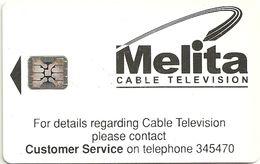Malta - Maltacom - Melita Cable Television - SC5, 20U, Cn.37870 - 10.875ex, Used - Malta
