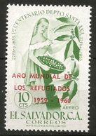 1960 SALVADOR  Rifugiato Refugee Serie Completa  Nuova ** MNH - Stamps