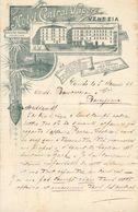 Italie - Lettre Avec Entête 5/11/1897 - Grosse Correspondance 4 Pages - Hôtel Central Vapore - Venezia - Voir (3 Scans). - Italie