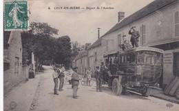 CELY EN BIERE - DEPART DE L'AUTOBUS - 77 - France