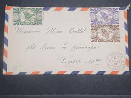 NOUVELLE CALÉDONIE - Enveloppe De Nouméa Pour Paris En 1946 , Affranchissement Plaisant - L 14780 - Nueva Caledonia