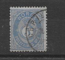 Sello De Noruega Nº Yvert 24 (o). - Usati