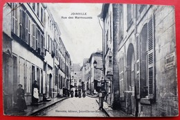 Cpa 52 JOINVILLE  Anime Rue Des Marmouzets - Joinville