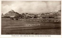 Yemen, ADEN, Steamer Point, Football Match Stadium (1930s) RPPC Postcard - Yemen